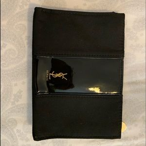 YSL makeup bag